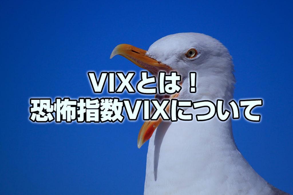 VIXとは!恐怖指数VIXについて